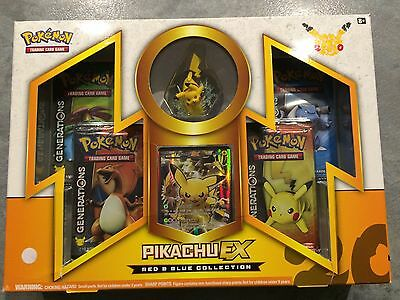 Pikachu EX Box With Figure Generations SUPER RARE ITEM See Description