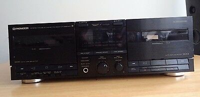 Pioneer CT-X550WR double cassette deck.....