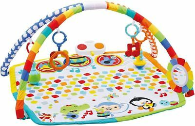 Fisher Price Musical Baby Gym Activity Play Mat With Sound And Fun Toy Band Gift