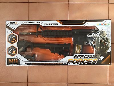 Special Forces Machine Gun Toy - For Kids 6+ - NEW - Unopened