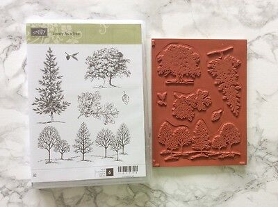 Stampin Up! Lovely As A Tree Stamp Set *NEW