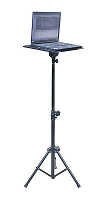 SoundLab Laptop Stand Portable Adjustable Computer Tripod Stand DJ Office Event