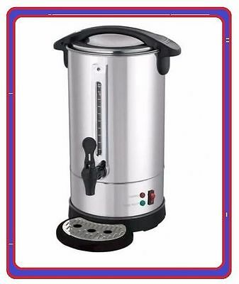 Stainless Steel Hot Water Boiler Tea Urn Commercial Catering Cafe Kitchen AA0009