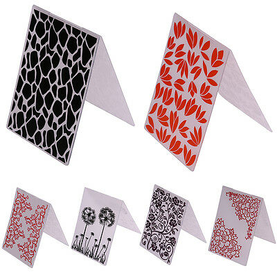 Plastic Embossing Folder Template Scrapbooking Paper Cards Decor Handcrafts DIY