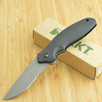 CRKT Columbia River Ken Onion Shenanigan AUS 8 Part Serrated Knife K480KKS