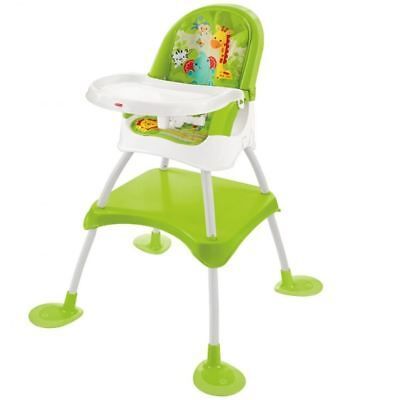 Fisher Price 4in1 Baby Feeding High Chair Booster Seat table And Stool DVM429396