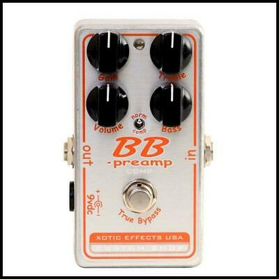 Xotic Effects Custom Shop BB Preamp Comp Guitar Effects Pedal