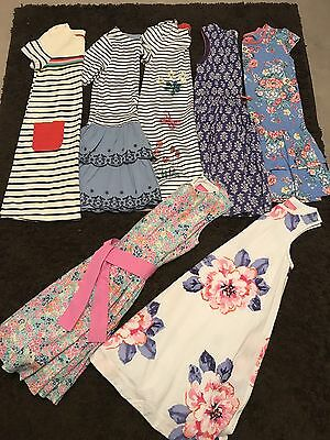 Girls Bundle Of Mini Boden And Joules Dresses 11-12 Years Yrs