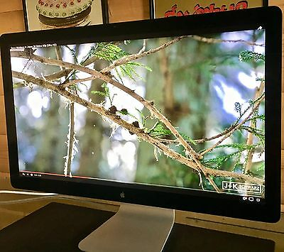 """Apple Thunderbolt MC914ZM 27"""" LCD Monitor, Built-in Speakers - Only 1 Year Old!"""