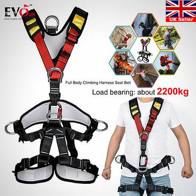 Outdoor Rock Climbing Mountaineering accessories Full Body Safety Seat Belt
