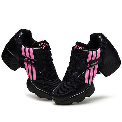 Woman Dance Shoes Jazz Hip Hop Shoes Sneakers Soft Sole Dancing Sports Shoes