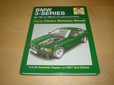 Haynes BMW 3 SERIES E36 SALOON & COUPE Owners Service Repair Handbook Manual
