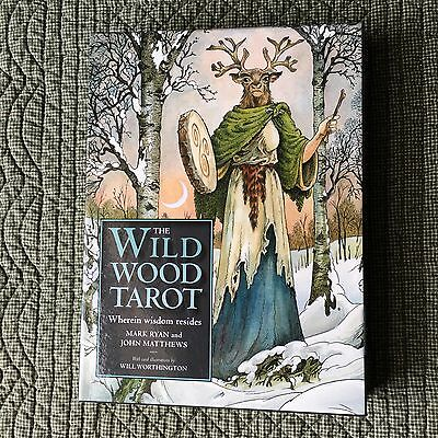 Wildwood Tarot 78 Card Deck Illustrated By Will Worthington Full Size Guide Book
