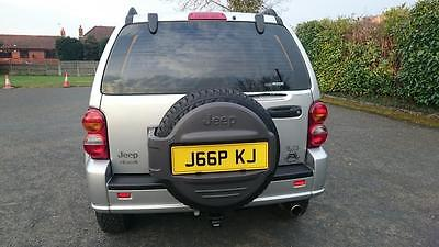 Jeep Cherokee cherished number plate registration