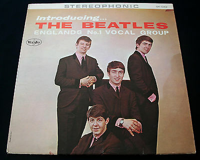 "THE BEATLES ""INTRODUCING THE BEATLES"" 1st STEREO! AUTHENTIC ""AD BACK"" COVER! NM!"