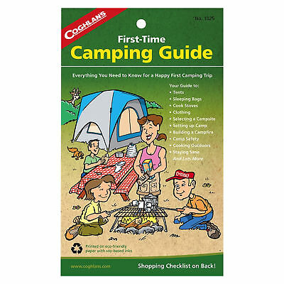Coghlan's First Time Camping Guide 32-Page Instruction Manual for Family Camping