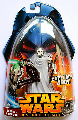 Star Wars Episode Iii Revenge Of The Sith Rots General Grievous Exploding Body