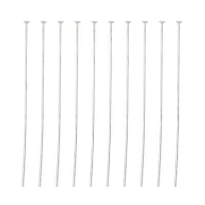 10x 925 Sterling Silver Ball Head Pins 3cm Jewelry Making Crafts Findings