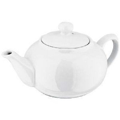 Judge White Porcelain 6 Cup Teapot.