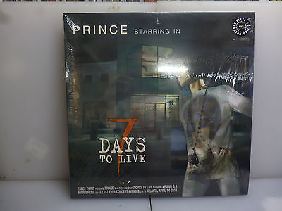 Prince-7 Days To Live. Atlanta, Usa 2016.-Gatefold 2Lp Black Vinyl-New.sealed