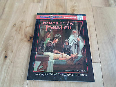 MERP Middle-earth Roleplaying Game Hands of the Healer (VG/NR FINE)