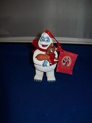 Rudolph Abominable Snow Monster & baby Rudolph Dept 56 new