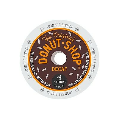 The Original Donut Shop Decaf, Keurig K-Cups, 88 Count read description