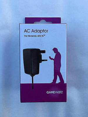 CE Mains Wall Charger Adapter UK Plug For Nintendo DSi NDSi DSiXL XL DSi New 3DS