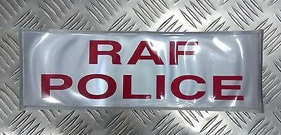 Genuine British Royal Air Force Police RAFP Hi Viz Reflective Jacket Patch