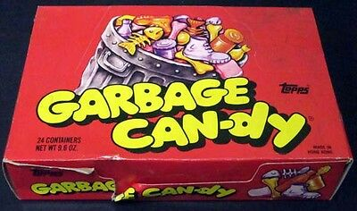 1988 Topps Garbage Candy Box * 24 Containers
