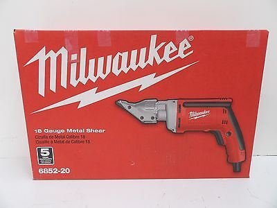 Milwaukee 6852-20 Heavy Duty 18 Gauge Metal Shear