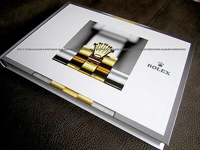 ROLEX CATALOGUE - Latest 2018 Rare Full HARDBACK Catalogue Brochure 2017