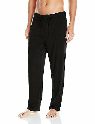 32Degrees Weatherproof Men's Heat Heavyweight Thermal Lounge Pant, Black, #5YS
