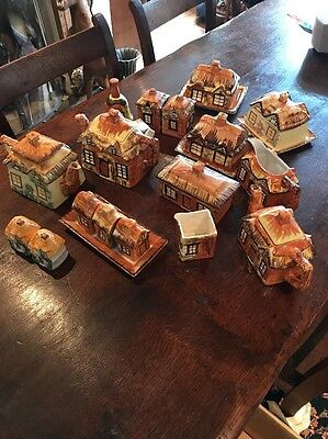 Rare Price Brothers Cottage Ware Collection