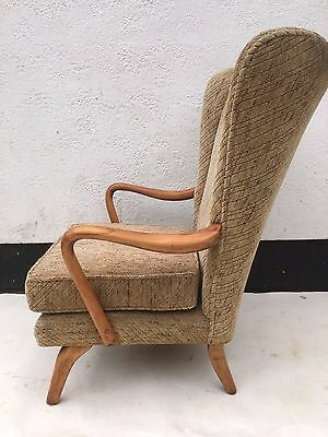 Vintage Retro Midcentury 1950s HOWARD KEITH BAMBINO Heals atomic cocktail chair
