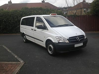Mercedes Vito LWB Wheelchair Accessible 9 Seater Taxi Hackney Spec