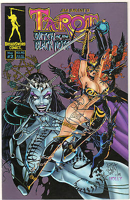 TAROT Witch Of The Black Rose # 2 HIGH GRADE 1st Print • $19.27
