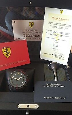 Ferrari Limited Edition F1 Valve 2003 Schumacher Championship Season + Watch Set