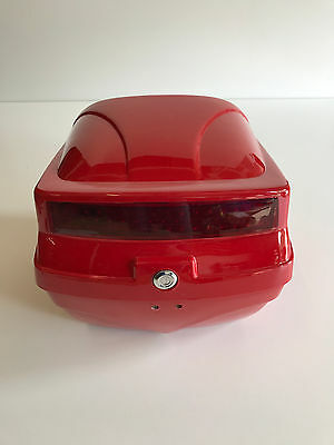 Universal Painted Gloss Finish Hard Case Top Box For Scooter / Motorcycle