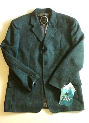 Bnwt Mens Saddlemaster Tweed Jacket Size 42
