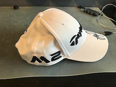 Hand Signed TaylorMade Justin Rose Golf Hat