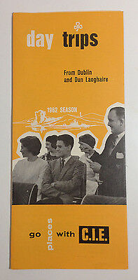 Day Trips From Dublin and Dun Laoghaire CIE Vintage Travel Brochure 1962 Ireland
