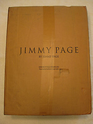 JIMMY PAGE BY JIMMY PAGE Genesis Publications DELUXE Ed. (#208/350) Led Zeppelin
