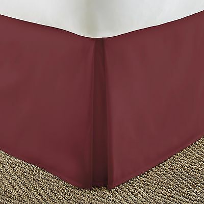 Ultra Premium Quality Pleated Bed Skirt by The Home Collection