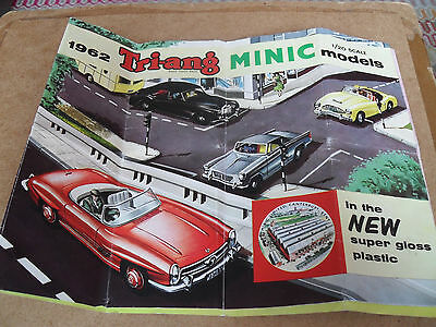 Triang Minic Toy Catalogue 1962 Uk Edition V Good Plus Condition For Age