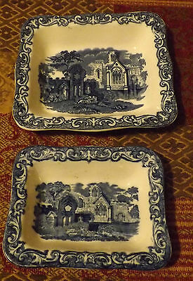 Vintage George Jones Shredded Wheat Dishes