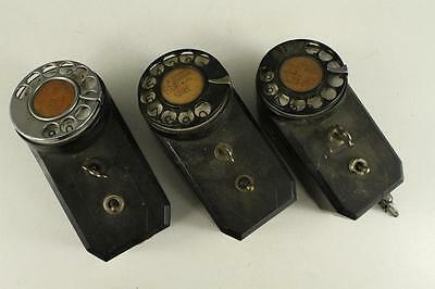 Vintage Lot Rotary Dial Coin Machine Equipment ARROW HART HEGEMAN AS IS PARTS