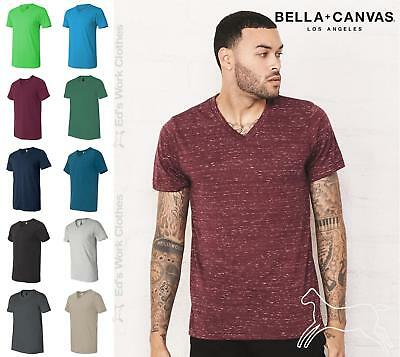 eac2df016794 Bella + Canvas Unisex Short Sleeve V Neck Jersey T Shirt Blank 3005 Sizes  to 3XL