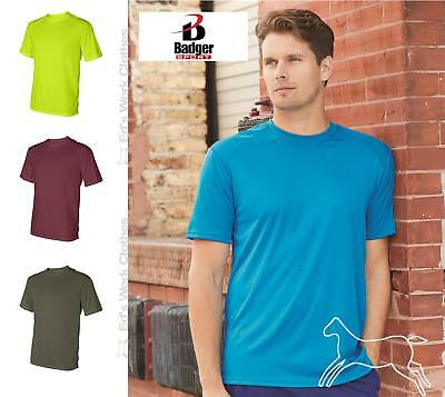 Badger Mens B Dry Core T Shirt with Moisture Management Blank 4120 up to 4XL