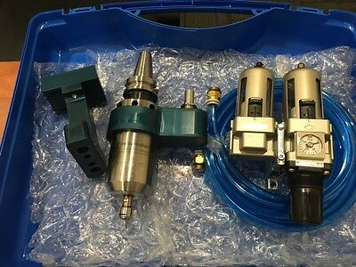 Air Turbine Spindle 625XDT 50k RPM Spindle Accelerator, 30 Taper